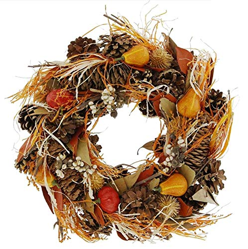 Kurbis Dekofigur Herbst Gelb Orange Grun Tischdeko Gartendeko Farbe