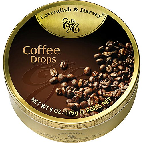 9 Dosen Cavendish & Harvey Coffee Drops Kaffee Bonbons a 175g C & H