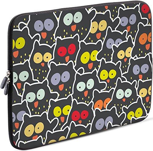 Sidorenko 11-11,6 Zoll Laptop Hülle - Laptoptasche für MacBook / Chromebook aus Neopren, Mehrfarbig, 42 Designs zur Auswahl