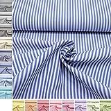 MAGAM-Stoffe Baumwoll-Stoff ''Amelie'' Streifen aus 100%