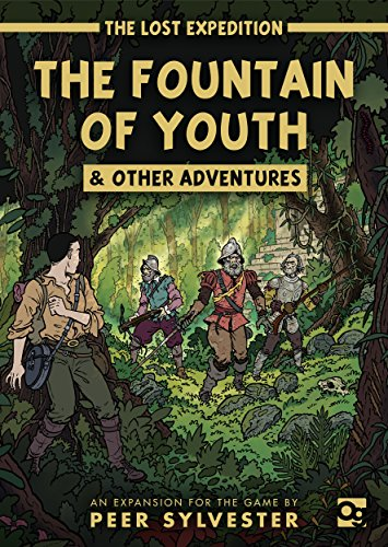The Lost Expedition: The Fountain of Youth & Other Adventures: An expansion to the game of jungle survival (Lost Expedition Games) por Peer Sylvester
