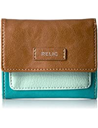 Bryce Trifold Ocean Blue Credit Card Holder, Ocean Blue, One Size By Relic