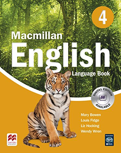 MACMILLAN ENGLISH 4 Language Book (Primary ELT Course for the Middle East) - 9781405081252