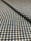Country Tweed | 100% Reine Wolle | Stoff Meterware |Blue