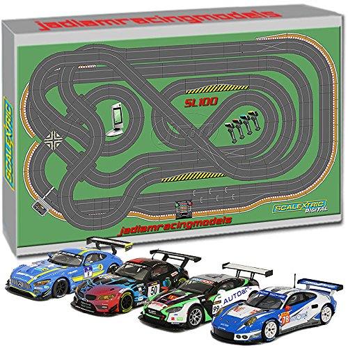 Scalextric Digital Set SL100 JadlamRacing Layout with