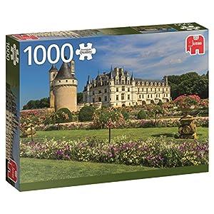 Jumbo- Castillo en el Loira Puzzle de 1000 Piezas (18555.0)