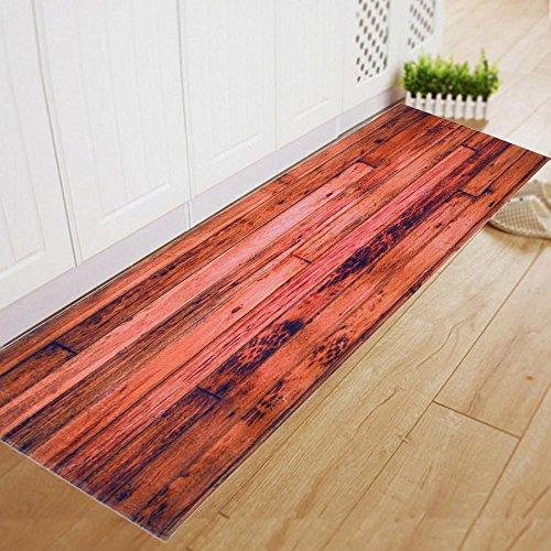 60 * 180CM Esszimmer Teppich Shaggy Weiche Bereich Teppich Schlafzimmer Rechteck Boden Non Slip Mat Microfiber Shaggy Bad Teppiche Badezimmer Dusche Matten Teppich Weiß (G)