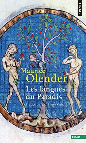 Les Langues du paradis par Maurice Olender