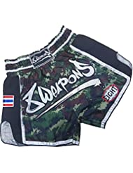 8Weapons Pantalones Cortos, Super Malla, Camo, medium