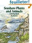 Seashore Plants and Animals Coloring...