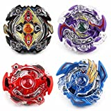 #9: Fancyku BeyBlade Battle Game Set, 4D Fusion Model Metal Masters Acceleration Launcher Speed Gyro Best Gift for Children