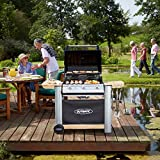Outback Spectrum 3-Burner Hooded Gas Barbecue with Cover