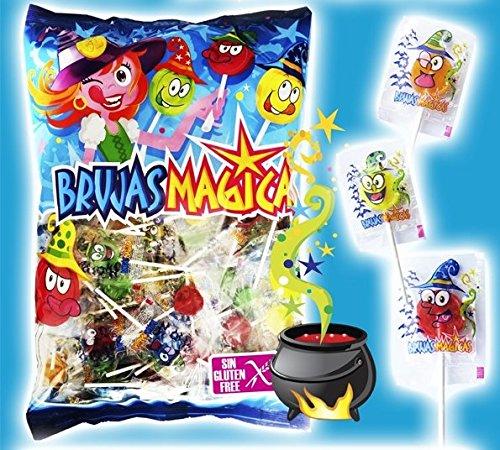 (Zauberhexen - Süßigkeiten mit Stick - Lollipops - 200 Stück)