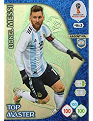 Adrenalyn XL FIFA World Cup 2018 Rusia – Lionel Messi parte superior Master Trading Card –