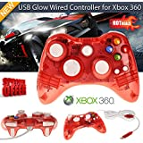 Bositools Afterglow Wired Controller with SmartTrack Technology - Red (Xbox 360)