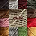 High Quality British Made Cloth Covered Braided Twisted Flex 3Core 6Amp Various Colours from Art Deco Emporium Ltd.
