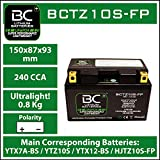 BC Lithium Batteries BCTZ10S-FP Motorrad...