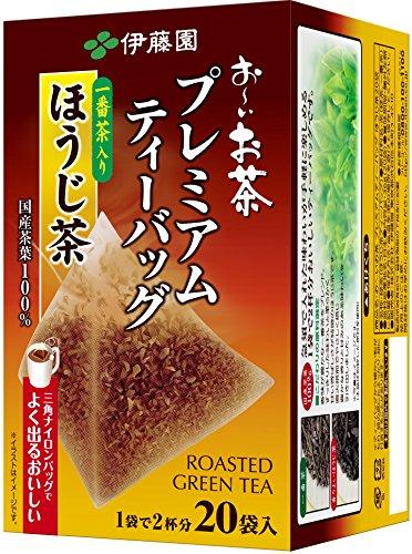 Itoen Premium Tee Bag Houjji Tea 1.8g - 20 peace - Green Tea - (Pack Type)