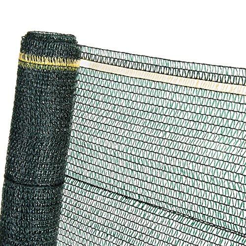 HaGa® Schattiernetz Sonnenschutzgewebe Sichtschutz 40% in 3m Br. (Meterware)
