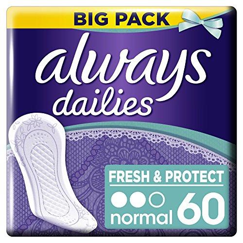 Always - Protège-Slips Normal - Gros Format x 60