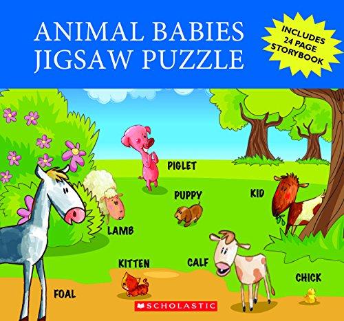 Animal Babies Jigsaw Puzzle