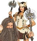 Femmes Hommes Barbare Viking Style Battle Hache Costume Déguisement Accessoire Arme
