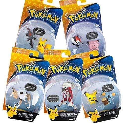 Tomy - T18445- Pokémon - Figurines de Combat - Modèle aléatoire