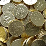 Milk Chocolate Coins - 1kg bag Approx 180 coins
