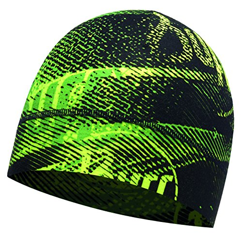 buff-coolmax-1-layer-hat-mutze-flash-logo-yellow-fluor-one-size