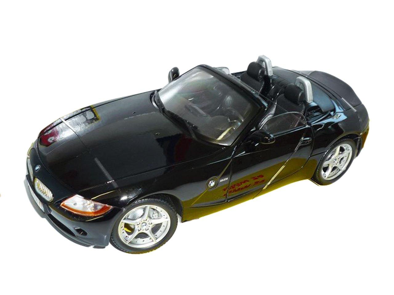 BMW Z4 E85 Cabrio Schwarz Roadster 2002-2008 1//43 Motormax Modell Auto mit ode..