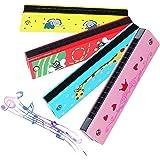 16 Trous Harmonica,Biluer 4PCS Enfants Harmonica Enfants Musical Instrument Trémolo Harmonica pour Débutants Enfants Fête Vac