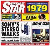 1979 Geburtstags-Geschenke - 1979 Chart Hits CD und 1979 Geburtstagskarte