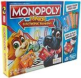 Hasbro Jeu E1842Monopoly Junior Electronic Bankingm