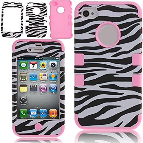 Case for iPhone 4S,Cover for iPhone 4S,Case for iPhone 4,Hybrid