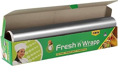 Fresh N Wrapp Food Grade Jumbo Super Saver Aluminium Foil 72 Meter