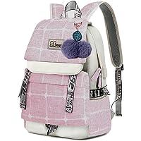 Asge Schulrucksack Mädchen Schulranzen Jungen Schultasche mit Ergonomischem Design Rucksack Campus Backpack Nylon…