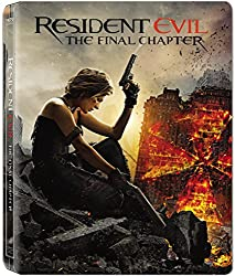 Resident Evil: The Final Chapter Steelbook [Blu-ray] [2017]
