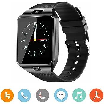 CanMixs Smartwatch DZ09 Bluetooth 3.0 con podómetro de cámara Mensaje Anti-perdida Tracker Calendario de