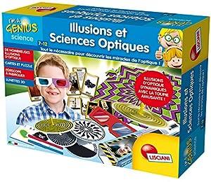 Lisciani-fr59423-Juego Educacional-Ilusiones y Ciencias óptica