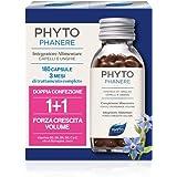 Phyto Phytophanere Integratore Alimentare Naturale Fortificante per Capelli e Unghie, Dona Forza, Crescita e Volume, senza Si