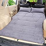 Lameila Auto outdoor-Reisen Bett Luftmatratze Matratze hinten SUV-Auto,Einschließlich einer Saugpumpe , grey suede 5cm