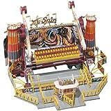 Faller 140431 Carrusel Top Spin - Maqueta de atracción de feria Top Spin para montar (Capaz de funcionar con dos motores, escala 1:87)