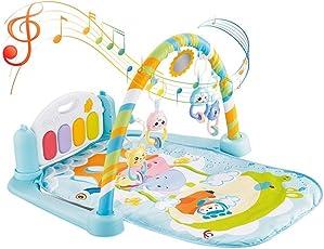 Baby Kick & Play - Tappetino da ginnastica per pianoforte, morbido