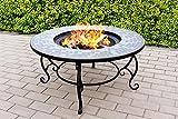 Centurion Supports Fireology Ginessa Chauffage de jardin/foyer/table basse/barbecue/Seau à glace–Mosaïque en céramique Finition