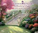 Official Thomas Kinkade Painter of Light with Scripture 2018 Deluxe Wall Calendar