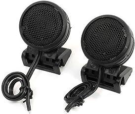 Linus Car Dome Audio System Tweeter Speakers (Black)