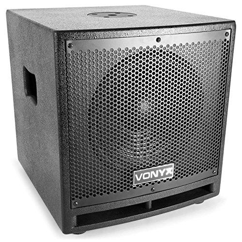 Vonyx VX1000BT • 2.2 Aktivlautsprecher-Set • Boxensystem • 1000 W • 2 x 10-Subwoofer • 2 x 2,5