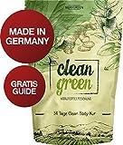 Nurigreen Clean Green Detox Tee Kur - 100% natürliche Kräuterteemischung - Grüner Tee, Brennnessel, Ingwer & Gojibeeren