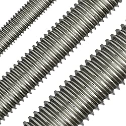 1 Threaded Rod M2 to M36 – 1000 mm DIN 975 A2 Stainless Steel