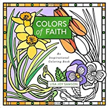Colors of Faith: An Inspirational Coloring Book (Colouring Books)